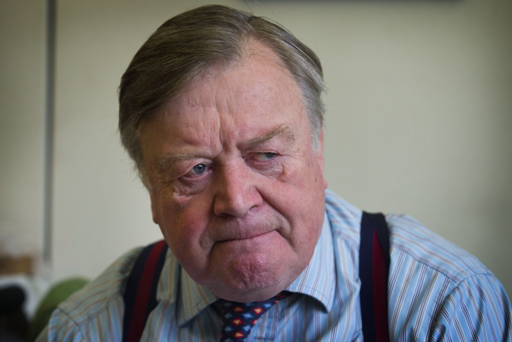 Ken Clarke previously stated he would not stand for re-election (Rex)