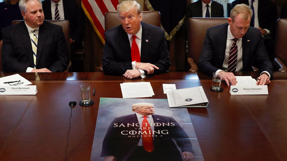 Trump, using 'Game of Thrones'-style meme, teases border wall