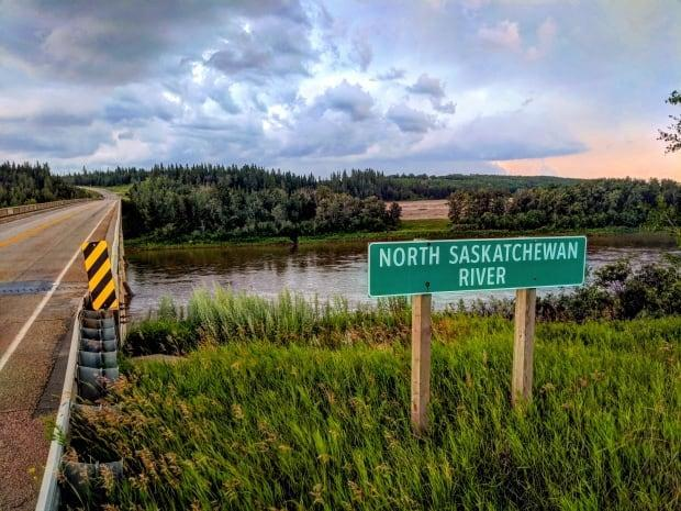 The North Saskatchewan River is the southern boundary of Smoky Lake County.  (Supplied by Kyle Schole  - image credit)