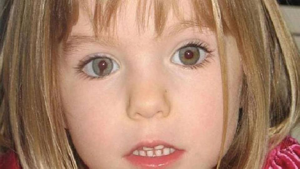 Madeleine McCann disappeared in 2007. Source: Met Police
