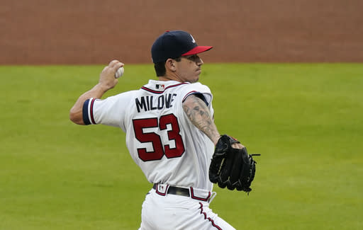 Another Braves pitcher hurt: Tommy Milone (elbow) to IL