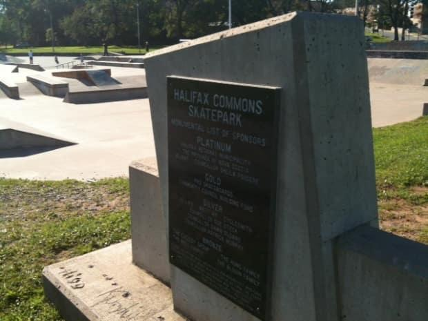 The incident happened Thursday around 4:30 p.m. at the skate park.  (Zaa Nkweta/CBC - image credit)