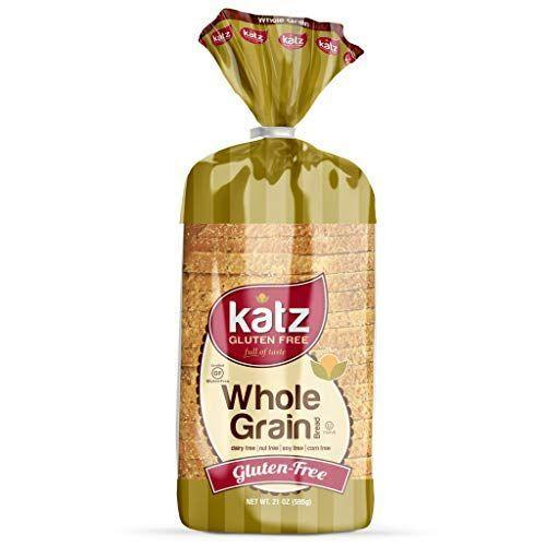 """<p><strong>Katz Gluten Free</strong></p><p>amazon.com</p><p><strong>$30.99</strong></p><p><a href=""""https://www.amazon.com/dp/B00K3I9FHI?tag=syn-yahoo-20&ascsubtag=%5Bartid%7C1782.g.27629746%5Bsrc%7Cyahoo-us"""" rel=""""nofollow noopener"""" target=""""_blank"""" data-ylk=""""slk:BUY NOW"""" class=""""link rapid-noclick-resp"""">BUY NOW</a></p><p>This gluten-free flour's made from brown rice, tapioca, and sorghum. Sadly, the mixture doesn't quite hit the mark. You can't even handle the cardboard-y slices without them crumbling. The taste and smell are nothing to write home about either. Eeeeek.</p>"""