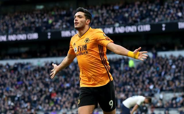 Raul Jimenez has attracted interest from Manchester United and Juventus (Bradley Collyer/PA)