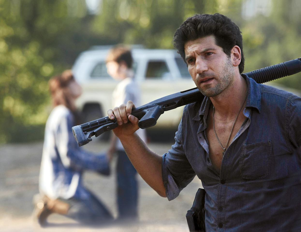 <p>He stepped up to protect Lori and Carl, and lead the group, which is admirable. But then he became unhinged and tried to murder best pal Rick several times. Not cool, bro.<br /><br />(Photo: AMC) </p>