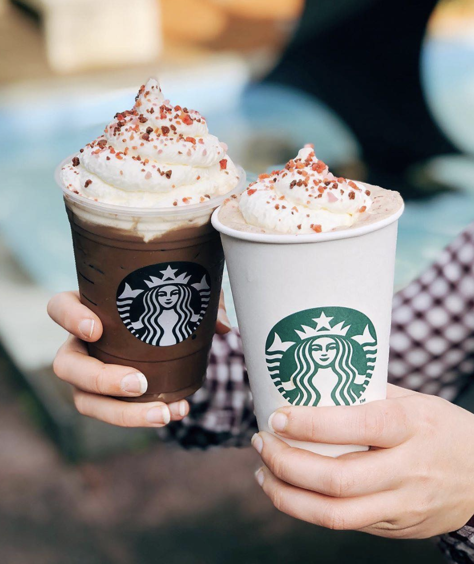 <p>A mocha from Starbucks is equal parts nostalgic and delicious, but this one has added cherry flavor and toppings that will help you mix it up every once in a while.</p>
