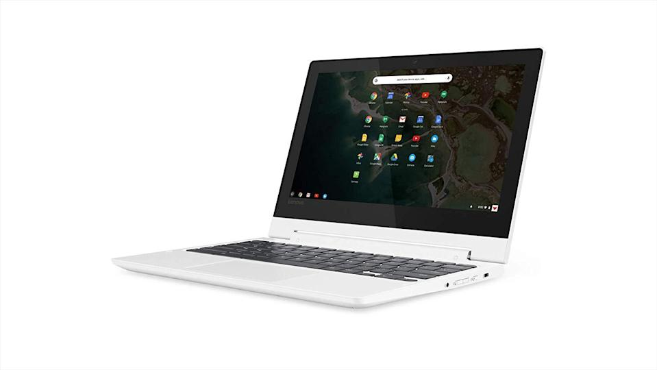 This Lenovo Chromebook is a 2-in-1 laptop. (Photo: Amazon)