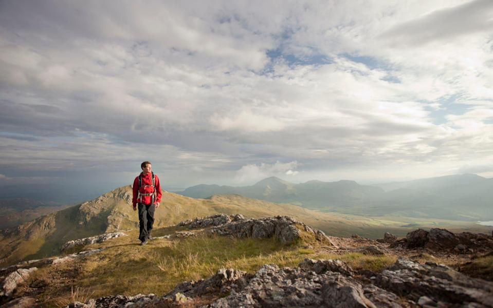 Hiking in Snowdonia - Getty