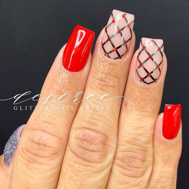 "<p>Is it just me or do these nails remind you of fishnet stockings? Your nails literally couldn't get any steamier.</p><p><a href=""https://www.instagram.com/p/CKQFlq_sMgZ/?utm_source=ig_embed&utm_campaign=loading"" rel=""nofollow noopener"" target=""_blank"" data-ylk=""slk:See the original post on Instagram"" class=""link rapid-noclick-resp"">See the original post on Instagram</a></p>"