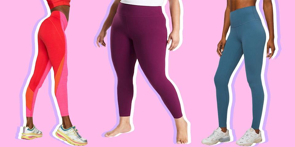 """<p>Leggings are the one item in your closet that really do it all. You reach for them before spin classes, biology lectures, date nights, <a href=""""https://www.seventeen.com/celebrity/movies-tv/a11993545/disney-channel-movies/"""" rel=""""nofollow noopener"""" target=""""_blank"""" data-ylk=""""slk:Disney movie marathons"""" class=""""link rapid-noclick-resp"""">Disney movie marathons</a>, and beyond, which is why you have to be <em>really </em>selective when picking the right pair. <a href=""""https://www.seventeen.com/fashion/trends/g33660599/best-black-leggings/"""" rel=""""nofollow noopener"""" target=""""_blank"""" data-ylk=""""slk:A good set of leggings"""" class=""""link rapid-noclick-resp"""">A good set of leggings</a> has to be flexible, durable, thick, stylish, and above all, comfortable. But even so, it's hard to find a pair that checks every single box – your soul-leggings, if you will. </p><p>If you're looking to add a few more sets of <a href=""""https://www.seventeen.com/fashion/g27325538/best-lululemon-leggings/"""" rel=""""nofollow noopener"""" target=""""_blank"""" data-ylk=""""slk:high-quality options"""" class=""""link rapid-noclick-resp"""">high-quality options</a> on your roster, this list is a good place to start. These athleisure brands are the favorites of workout junkies, legging-lovers, and magazine editors alike. Yep, you've pretty much hit the legging jackpot. <br></p>"""