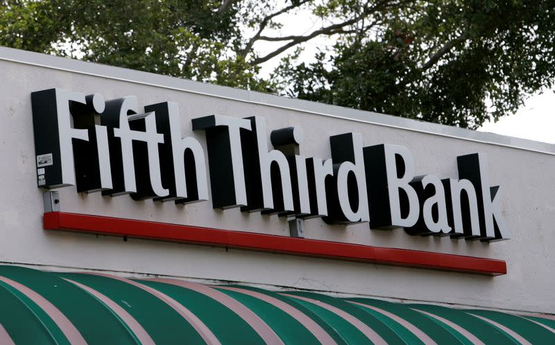 FILE PHOTO: A branch location of Fifth Third Bank is shown in Boca Raton