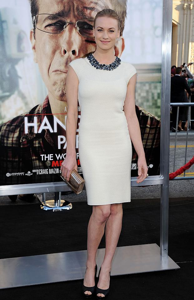 "Yvonne Stahovski attends the Los Angeles premiere of <a href=""http://movies.yahoo.com/movie/1810187722/info"">The Hangover Part II</a> on May 19, 2011."