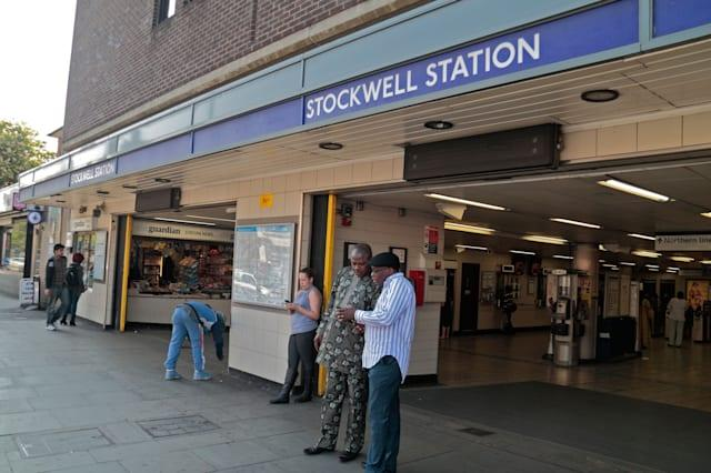 Entrance to Stockwell tube station, site of the July 2005 Police shooting of Charles de Menezes  in south London, UK.