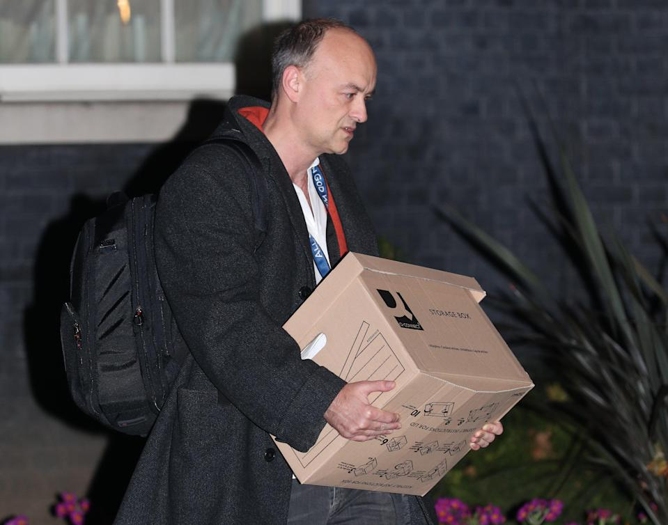 Dominic Cummings left No 10 in the autumn following a power struggle (Yui Mok/PA) (PA Archive)