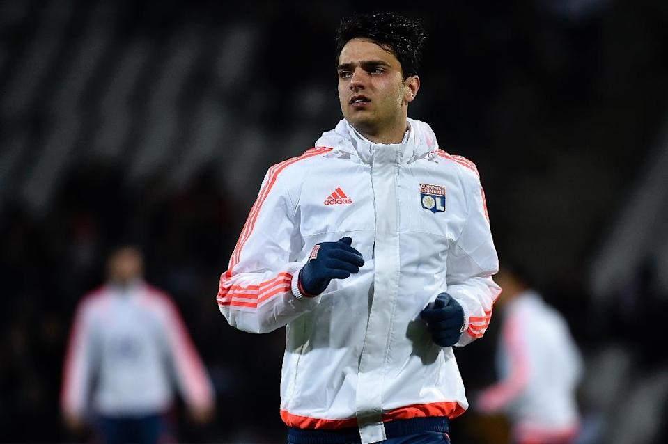 """""""We know we're going through a difficult patch,"""" said Lyon midfielder Clement Grenier, pictured on November 27, 2015 (AFP Photo/Jeff Pachoud)"""