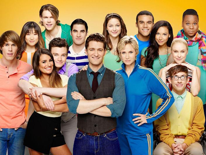 """<p>In the show's second season, <em>Glee</em> had a dedicated fanbase and it showed in its ratings—it was the <a href=""""https://www.hollywoodreporter.com/news/business-glee-75351"""" rel=""""nofollow noopener"""" target=""""_blank"""" data-ylk=""""slk:most watched U.S. TV series"""" class=""""link rapid-noclick-resp"""">most watched U.S. TV series</a> in 2011.</p>"""