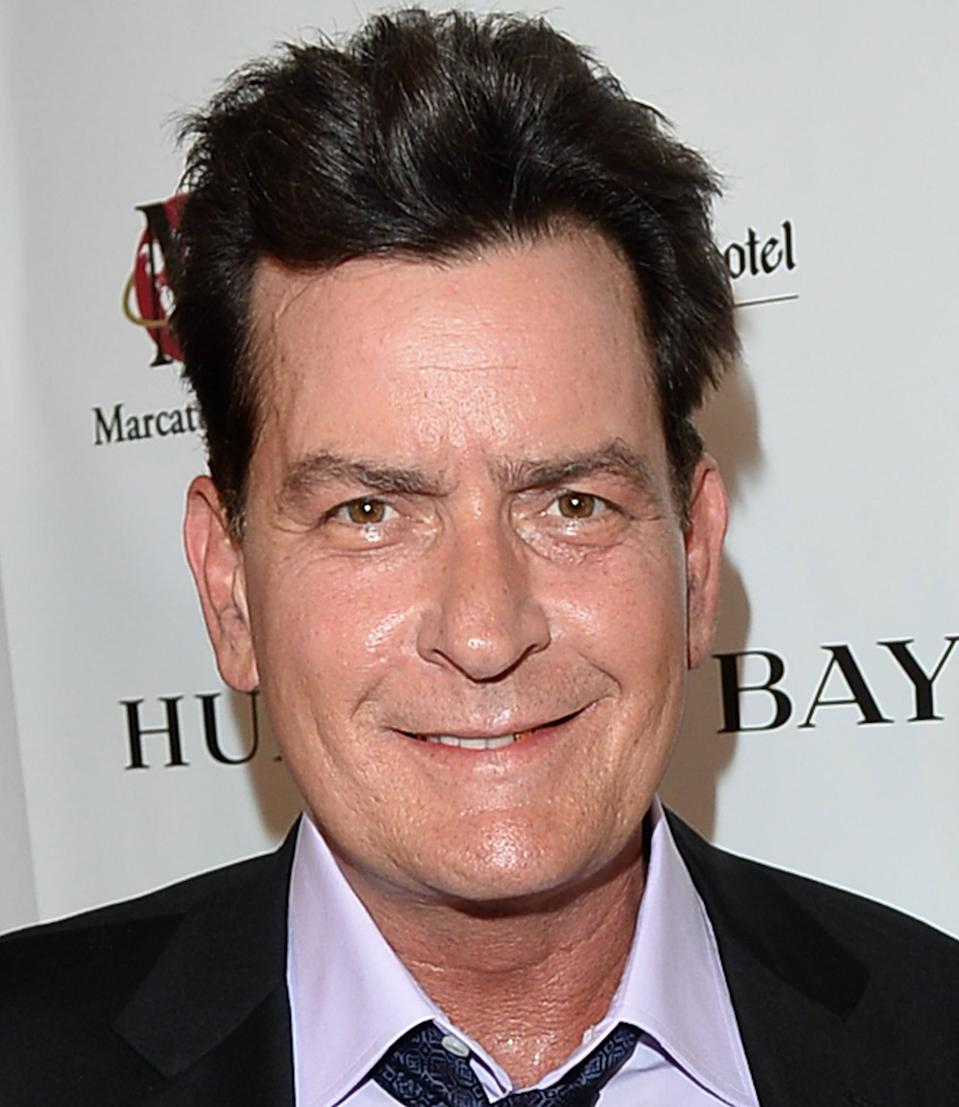 Wall Quote CHARLIE SHEEN That we are to stand by the President right or wron