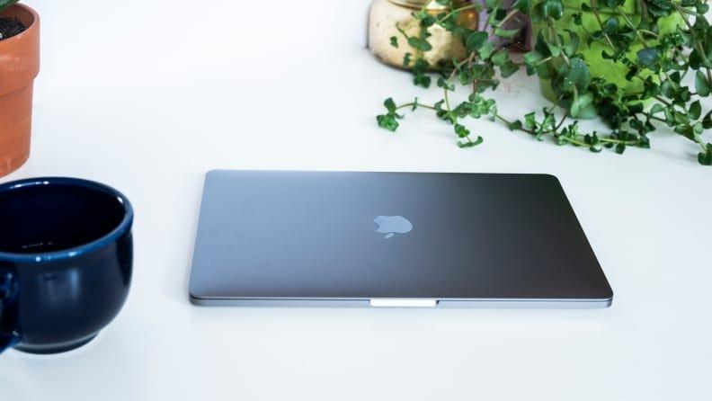 The M1 MacBook Pro 13 has the same beautiful build as its Intel predecessor, but its new Apple Silicon processor grants it incredible speed and efficiency.