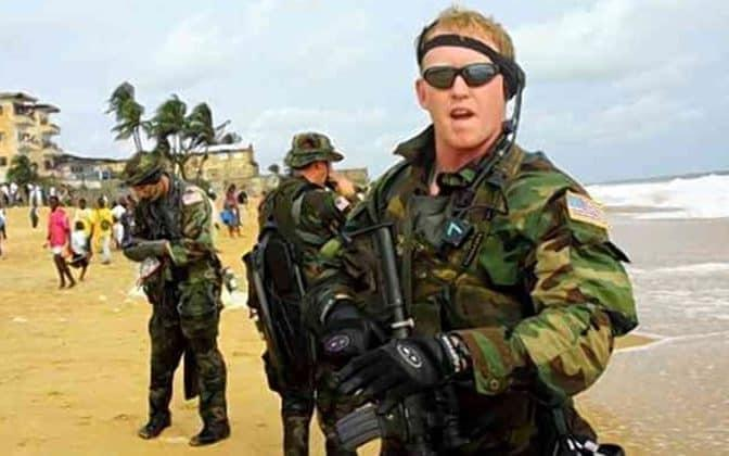 Rob O'Neill, says he shot dead bin Laden in the 2011 raid in Pakistan, criticised the president for retweeting a QAnon theory that the Seal team killed a body double.