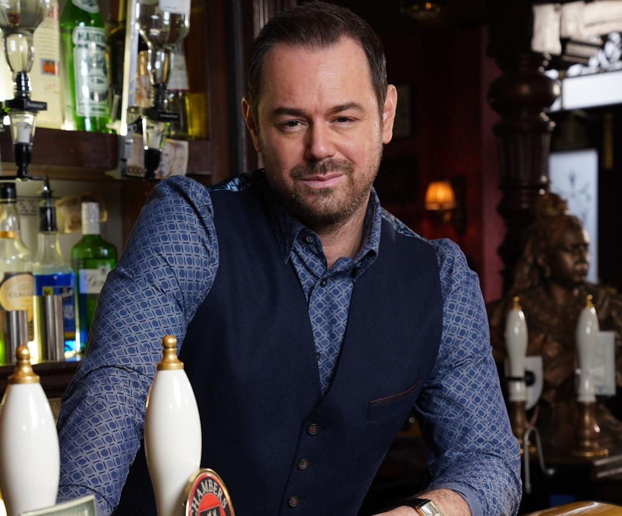 Danny Dyer stars as Queen Vic landlord Mick Carter in EastEnders. (BBC)