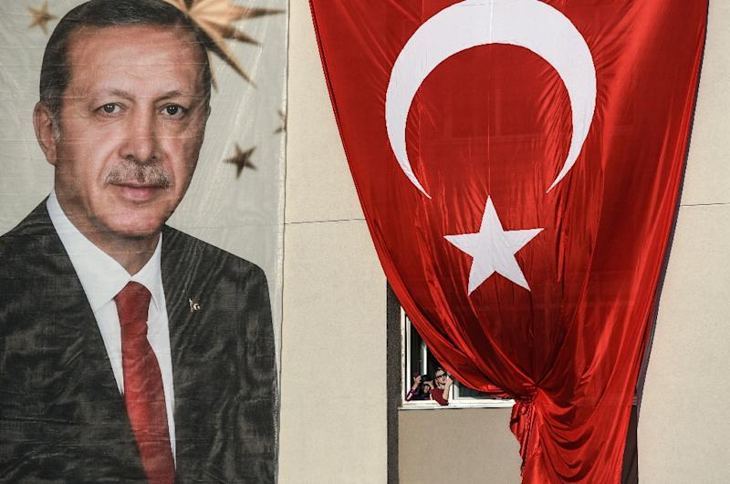 """Turkey's penal code punishes anyone who """"undermines the image"""" of the head of state with up to four years in jail"""
