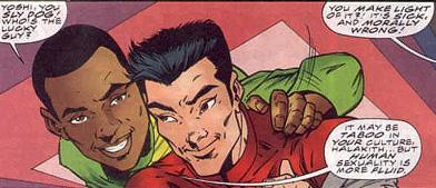 Yoshi Mishima was the first openly gay character to be featured in a <em>Star Trek</em> property. (Photo: Marvel/Gay League)