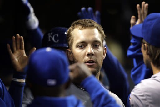 Royals end 12-game losing streak, beat Indians 8-2