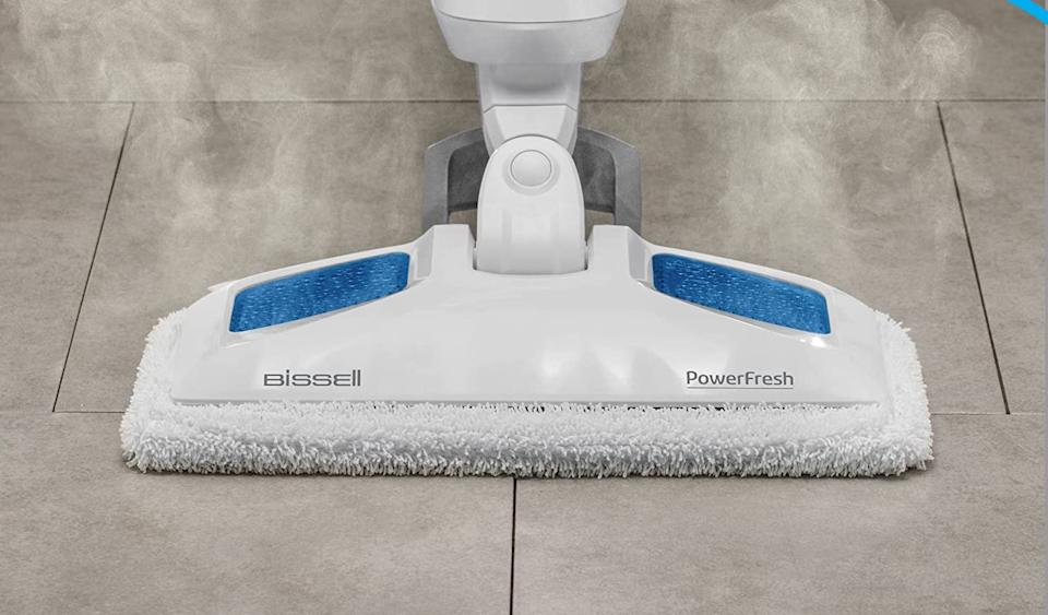 The Bissell Power Fresh Steam Mop (Photo: Amazon)