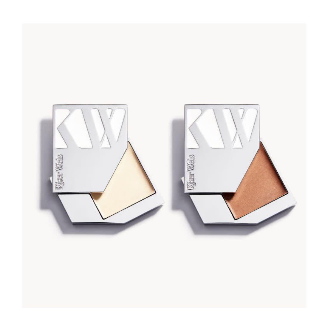 "What we love most about Kjaer Weis, an organic luxury beauty brand, is its&nbsp;<a href=""https://kjaerweis.com/about/intelligent-refill-system"" rel=""nofollow noopener"" target=""_blank"" data-ylk=""slk:intelligent refill program"" class=""link rapid-noclick-resp"">intelligent refill program</a>, which really cuts down on the need for excessive packaging.&nbsp;&nbsp;<strong><br><br> <a href=""https://kjaerweis.com/product/glow-kits/warm-la"" rel=""nofollow noopener"" target=""_blank"" data-ylk=""slk:Get the Kjaer Weis The Glow Kit (available in two color combos) for $105"" class=""link rapid-noclick-resp"">Get the Kjaer Weis The Glow Kit (available in two color combos) for $105</a>.</strong>"