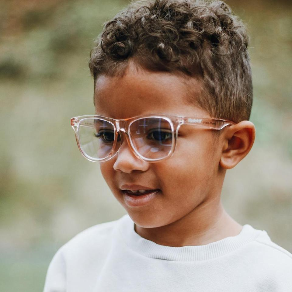 <p>These <span>Hipsterkid Blue Light Glasses</span> ($20) were designed by parents in Brooklyn, so you know they'll work their magic.</p>