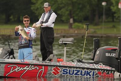 Chad Pipkens of Lansing is one of two pro anglers competing in the Angler of the Year Championship who call Michigan home.