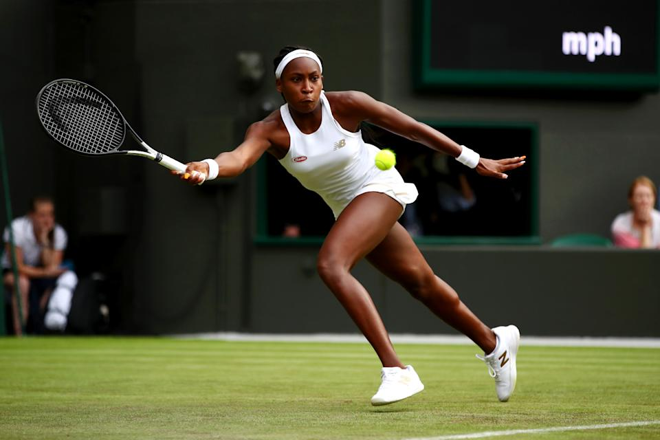 Gauff made her ITF debut in May 2018 at a qualifying event in Osprey, Florida. She go on to would secure her first professional win.
