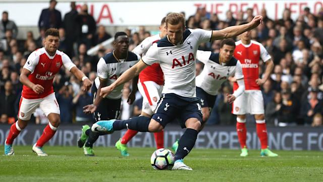No player has scored more Premier League goals for Tottenham against Arsenal than the six managed by England international Harry Kane.