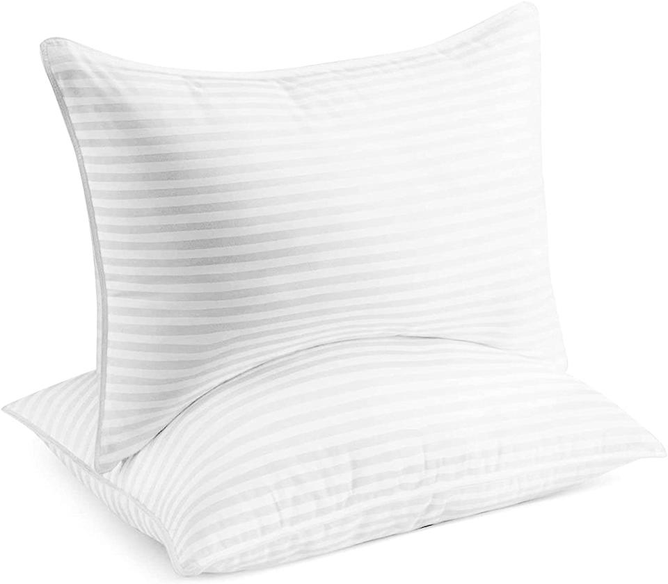 Nearly 100,000 shoppers are smitten with these pillows. (Photo: Amazon)
