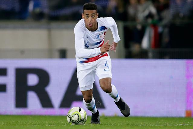 Tyler Adams has a chance to shine in Gregg Berhalter's USMNT setups going forward. (Getty)