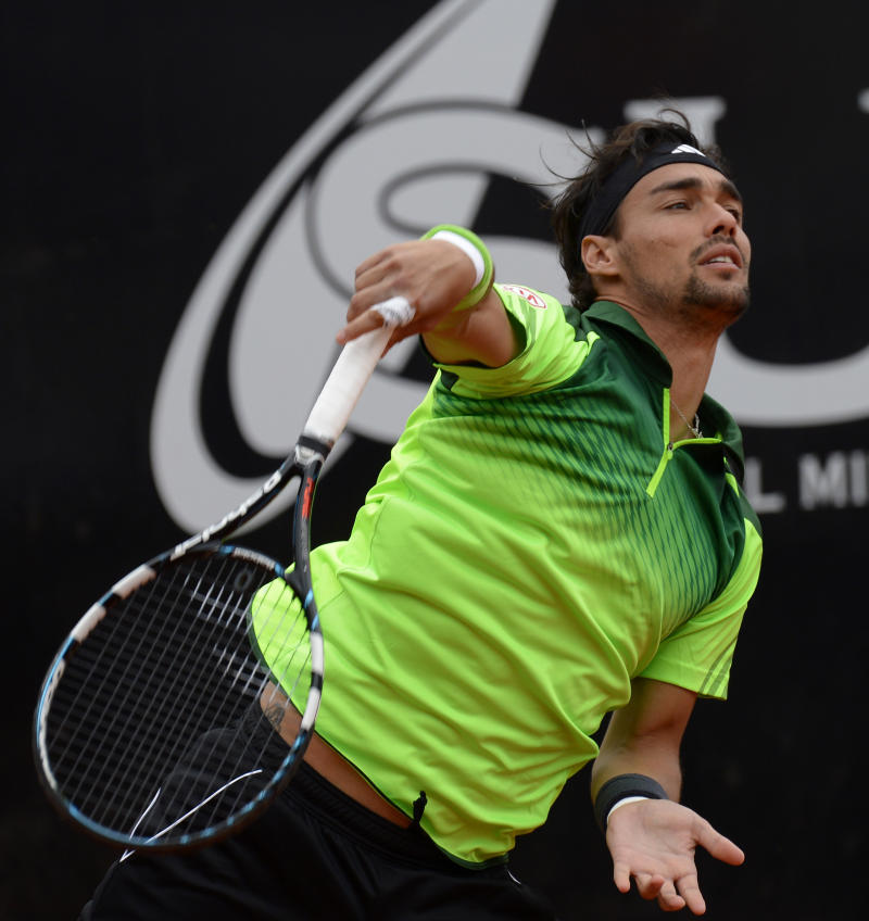 Fognini crashes out on day of upsets in Hamburg