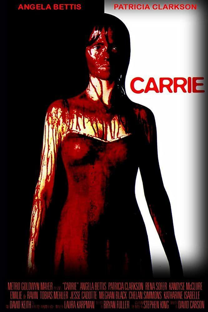 """<p>This cult classic was adapted into a TV movie in 2002. Carrie White is a lonely and painfully shy teenage girl with telekinetic powers who is slowly pushed to the edge of insanity by frequent bullying from both her classmates and her domineering, religious mother.</p><p><a class=""""link rapid-noclick-resp"""" href=""""https://www.netflix.com/title/60029461"""" rel=""""nofollow noopener"""" target=""""_blank"""" data-ylk=""""slk:STREAM NOW"""">STREAM NOW</a></p>"""