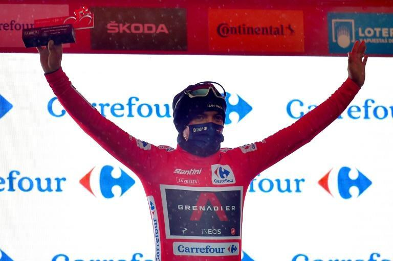 Richard Carapaz is racing in the Vuelta a Espana for a third time
