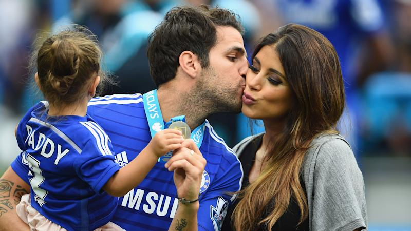Chelsea star Fabregas celebrates birth of third child with wife Daniella Semaan