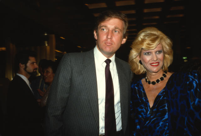 Donald Trump and Ivana Trump in September 1984. (Sonia Moskowitz/Getty Images)
