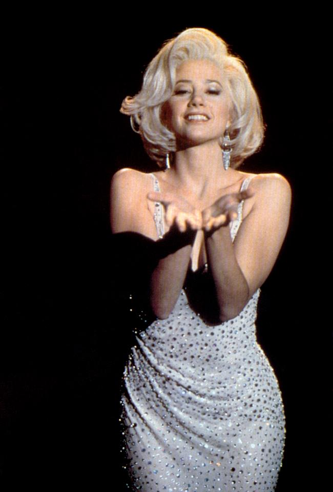 "Mira Sorvino played the older Marilyn Monroe in the 1996 television movie ""<a href=""http://tv.yahoo.com/norma-jean-marilyn/show/18485"">Norma Jean & Marilyn</a>."""