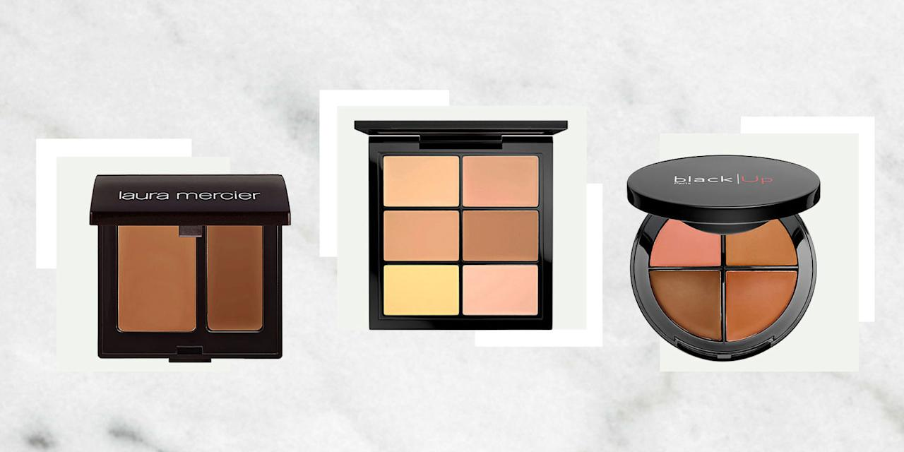 <p>Under-eye circles? Dark spots? Angry pimples? With these concealer palettes you can custom blend the perfect shade to camouflage every imperfection. <span></span></p>