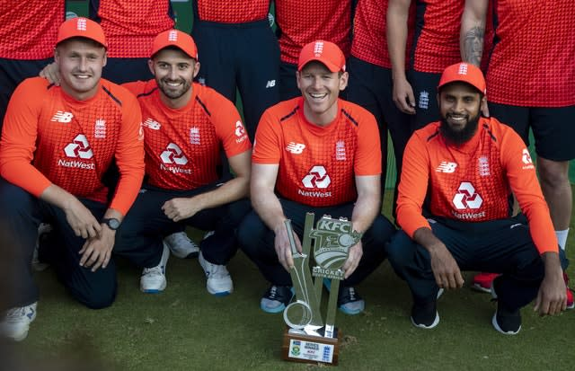 England clinched the T20 series against South Africa after a huge run chase