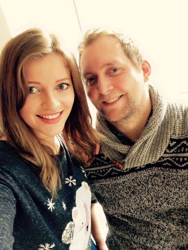 Charlotte Roe, who was diagnosed with bile duct cancer, is pictured with her brother, Mark.