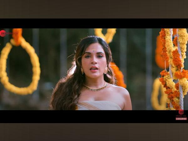 A still from the trailer featuring  Richa Chadha(Image courtesy: Youtube)