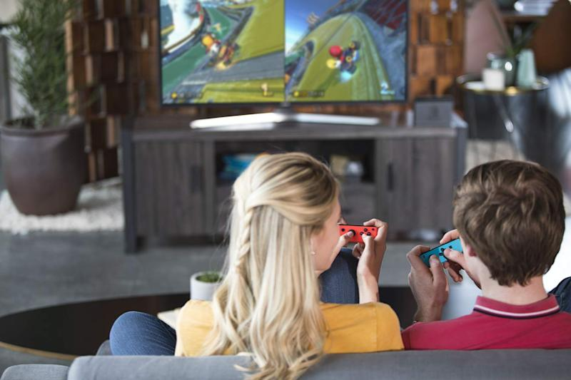 Save up to $44 on Nintendo Switch console and accessories. (Photo: Amazon)