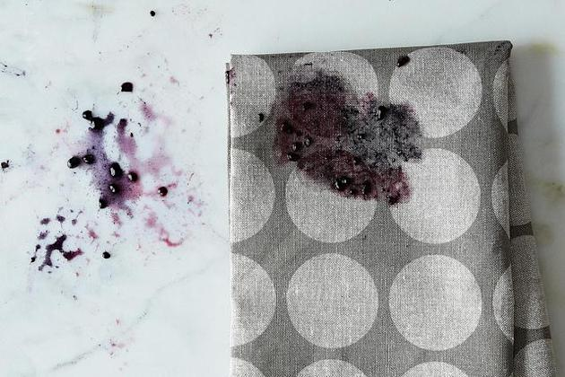 Berry stains from Food52