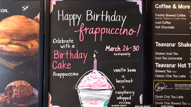 Starbucks Has A New Birthday Cake Frappuccino And We Taste Tested It For You