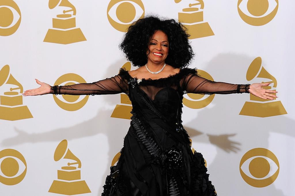 "<p>Ross received two noms with the Supremes and has tallied 10 since she went out on her own. Her first nom with the Supremes was for 1964's ""Baby Love,"" which was a finalist for Best Rhythm and Blues Recording. Her first solo nom was for 1970's ""Ain't No Mountain High Enough,"" which was a finalist for Best Contemporary Vocal Performance—Female. Ross received a Record of the Year nom for her ""Endless Love,"" her smash 1981 collabo with Lionel Richie. Ross, 72, received a Lifetime Achievement Award from the Recording Academy in 2012. </p>"