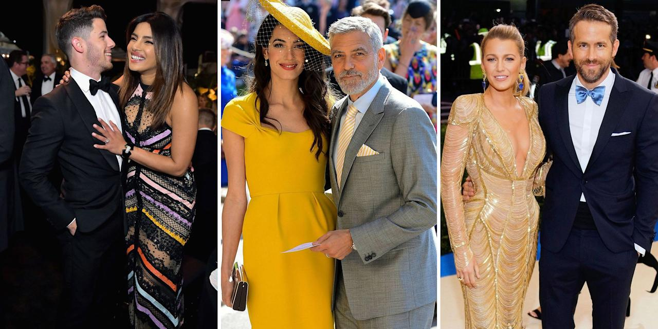 <p>These celebrity couples have quite a few years of age between them, but when it comes to love, the adorable duos prove that age really is just a number. From Priyanka and Nick Jonas to Beyoncé and Jay-Z, click through to see which of your favorite celebrity couples have the biggest age differences. </p>